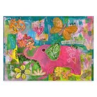 Buy Pink Elephant Canvas Wall Art from Bed Bath & Beyond