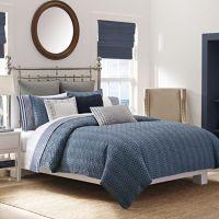 Nautica Ayer Reversible Comforter Set in Navy - Bed Bath ...