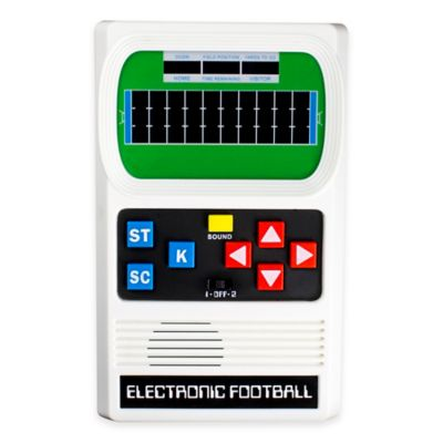 Classic Electronic Football Handheld Game Bed Bath Amp Beyond