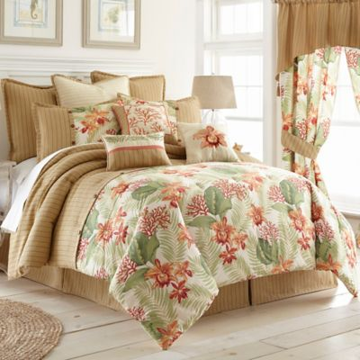 Coral Beach Comforter Set