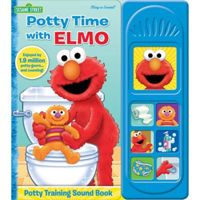 Sesame Street Potty Time With Elmo Little Sound Book
