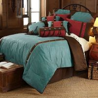 Buy HiEnd Accents Cheyenne 7-Piece Queen Comforter Set in ...