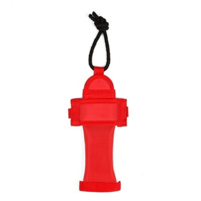 Fire Hose Dog Toy in Red