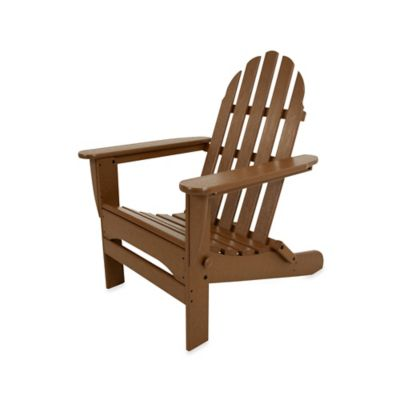teak folding chair officeworks stool chairs buy bed bath beyond polywood adirondack in