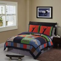 Cool Skate Twin Quilt Set - Bed Bath & Beyond