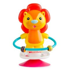 High Chair Suction Toys Nature Design Covers For Chairs Buybuy Baby Bumbo Luca Lion Toy In Blue