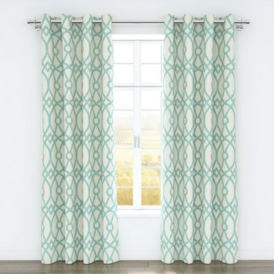 Buy Modern Aqua Curtains From Bed Bath & Beyond