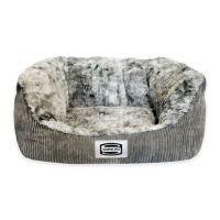 Buy Simmons Supreme Small Dog Bed in Pewter from Bed Bath ...