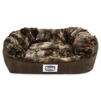 Buy Simmons Supreme Small Dog Bed in Chocolate from Bed ...