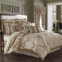 J. Queen New York Stafford Comforter Set in Mocha - Bed ...