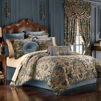 J. Queen New York Cassandra Comforter Set in Blue - Bed ...