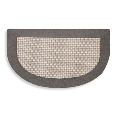 grey kitchen mat grape decorations for buy gray mats bed bath beyond maplewood slice 20 inch x 32 in