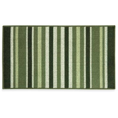 green kitchen rug moen oil rubbed bronze faucet buy rugs bed bath beyond bacova striped ivy 22 4 inch x 40 berber in