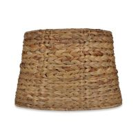 Buy Mix & Match Medium 9-Inch Seagrass Drum Lamp Shade in ...