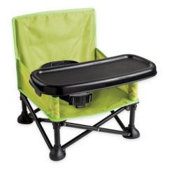 Personalized Camping Chairs Finn Juhl Chair Summer Infant® Pop 'n Sit Portable Booster Seat In Green/grey - Www.bedbathandbeyond.com