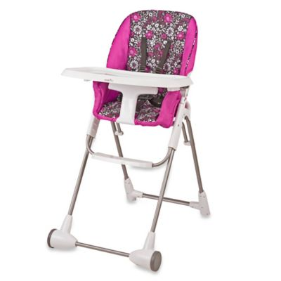 High Chairs > Evenflo Daphne Symmetry High Chair in Pink