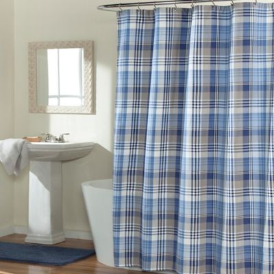 Mstyle Mad About Plaid Shower Curtain Bed Bath Amp Beyond