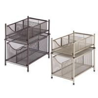 .ORG Under the Sink Mesh Slide-Out Cabinet Drawer - Bed ...
