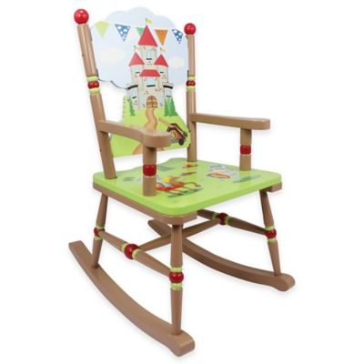 rocking chair kids commode walgreens kid s chairs buybuy baby teamson fantasy fields knights dragon