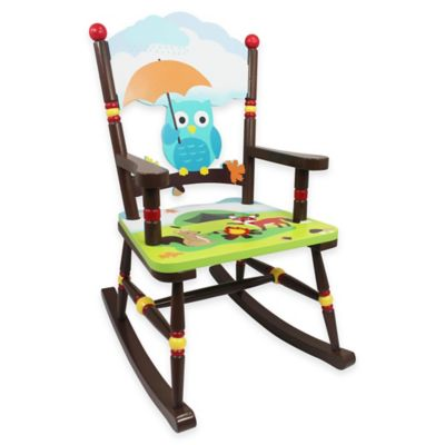 children rocking chairs 3 in 1 potty chair kid s buybuy baby teamson fantasy fields enchanted woodland kids