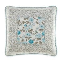 Buy Laura Ashley Everly Square Throw Pillow from Bed Bath