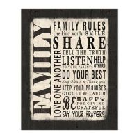 Buy Family Rules from Bed Bath & Beyond