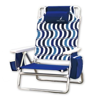 nautica beach chairs and umbrella big man chair covers nautica® collection - bed bath & beyond