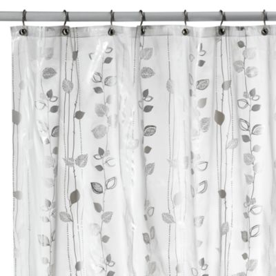 Buy Metallic Silver Shower Curtains from Bed Bath  Beyond