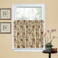 Waverly Felicite 36-Inch Window Curtain Tier Pair - Bed ...
