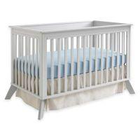 Sealy Bella 3-in-1 Standard Crib in Two-Tone Grey ...