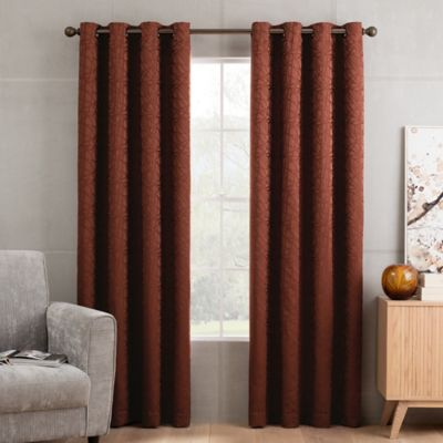 Buy Rust Curtains From Bed Bath Amp Beyond