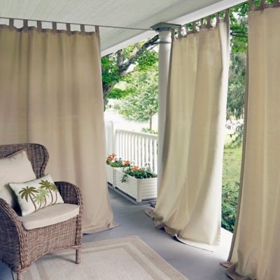 Elrene Matine IndoorOutdoor Tab Top Window Curtain Panel