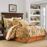 Tommy Bahama Tropical Lily Comforter Set in Golden Yellow ...