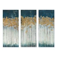 Madison Park Midnight Forest 3-Piece Canvas Wall Art - Bed ...