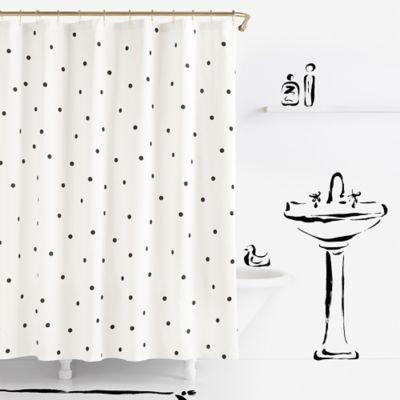 Kate Spade New York Deco Dot Shower Curtain Bed Bath Amp Beyond