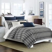 Nautica Peary Comforter Set in Medium Grey - Bed Bath ...