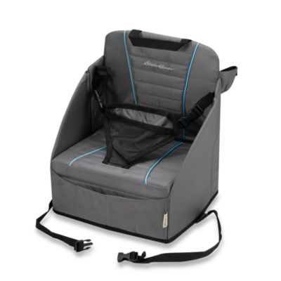 portable baby high chair hook on rising sun eddie bauer® pop-up booster seat - buybuy