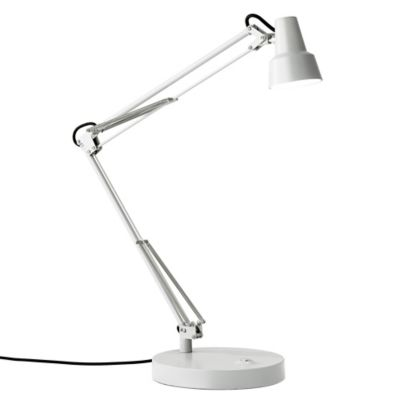 Buy Adesso Quest LED Desk Lamp in White from Bed Bath & Beyond