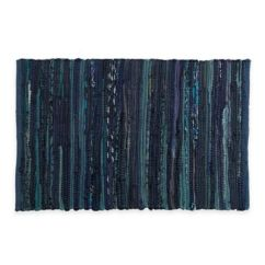 Cotton Kitchen Rugs Small Lighting Buy Bed Bath Beyond Chindi 2 Foot X 3 Hand Woven Rug In Blue