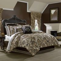 J. Queen New York Paloma Comforter Set in Gold - Bed Bath ...