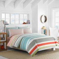 Nautica Taplin Reversible Comforter Set in Aqua - Bed ...