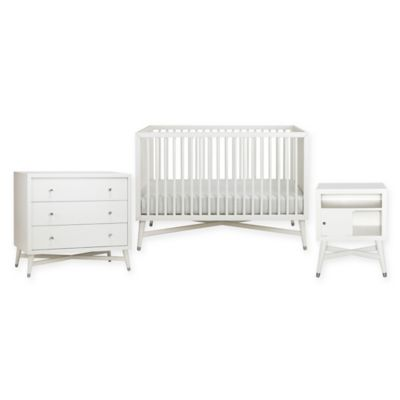 DwellStudio Mid Century Nursery Furniture Collection In