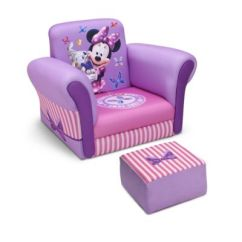 Toddler Chair And Ottoman Storage Box Buy Bed Bath Beyond Delta Disney Minnie Mouse Upholstered With