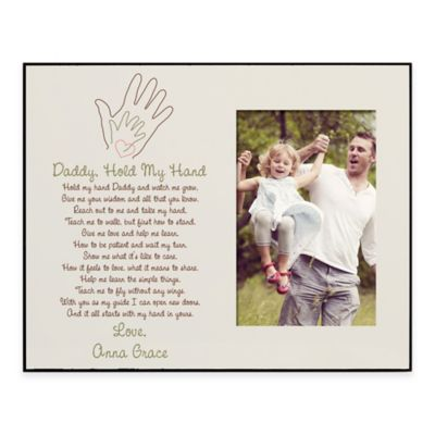Daddy Hold My Hand 4 Inch X 6 Inch Picture Frame Buybuy BABY