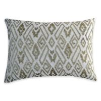Buy Callisto Home Silver Beaded Eos Oblong Throw Pillow in ...
