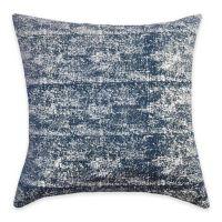 Callisto Home Silver Foil Print Ibiza Square Throw Pillow ...