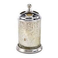 Buy Mercury Crackle Mirrored Glass Toothbrush Holder from ...