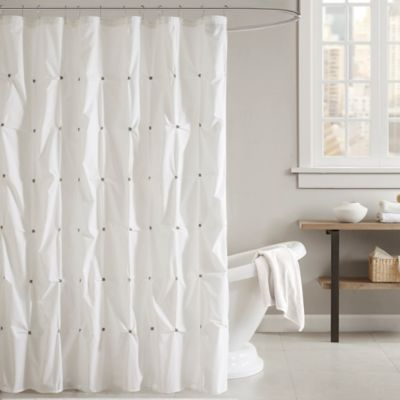 Buy White Cotton Shower Curtain From Bed Bath & Beyond