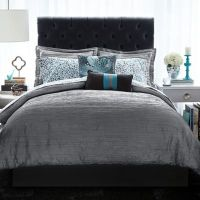 Christian Siriano Relaxed Crinkle Comforter Set - Bed Bath ...