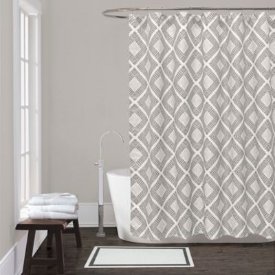 Buy Grey Shower Curtain From Bed Bath & Beyond